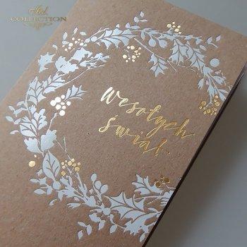 Weihnachtskarten für Unternehmen / Weihnachtskarte K624