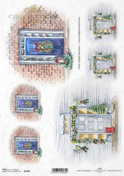 Reispapier für Serviettentechnik und Decoupage R1506