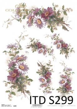 Decoupage paper Soft ITD S0299