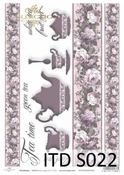 Decoupage paper Soft ITD S0022