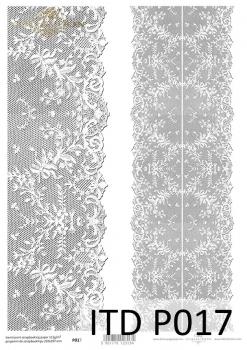 Translucent scrapbooking paper P0017