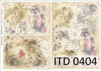 Decoupage paper ITD D0404