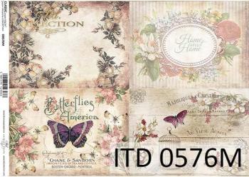 Decoupage paper ITD D0576M