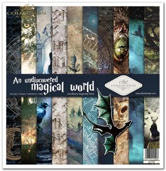 Scrapbooking papers SLS-023 ''An undiscovered magical world''