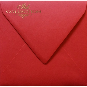 .Envelope KP02.17 'K4' 154x154 red
