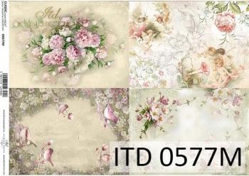 Decoupage paper ITD D0577M