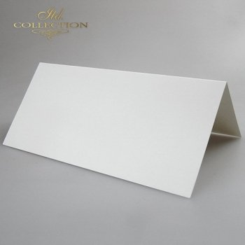 Card Base BDK-006 * Natural white color