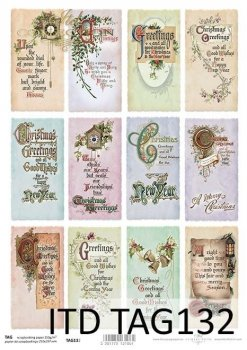 Tags, frames to scrapbooking TAG0132