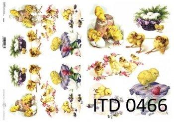 Decoupage paper ITD D0466