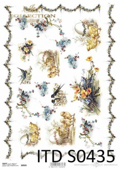 Decoupage paper Soft ITD S0435
