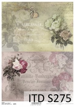 Decoupage paper Soft ITD S0275
