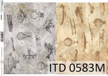 Decoupage paper ITD D0583M