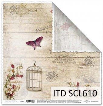 scrapbooking paper SCL610