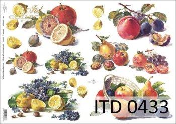 Decoupage paper ITD D0433M