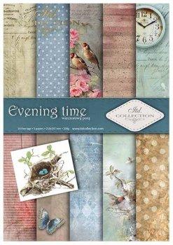 Scrapbooking papers SCRAP-011 ''Evening time''