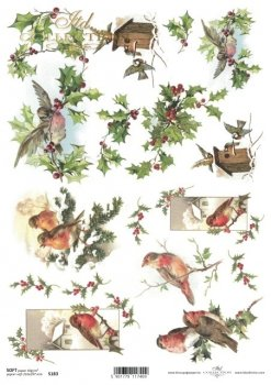 Decoupage paper Soft ITD S0183