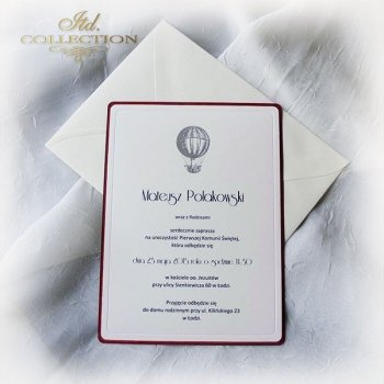 Holy Communion Invitation 1748_ balloon_claret