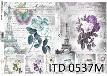 Decoupage paper ITD D0537M