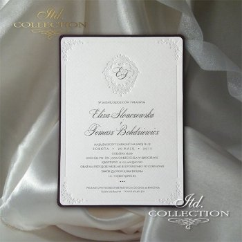 Invitations / Wedding Invitation 2011