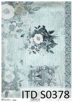 Decoupage paper Soft ITD S0378