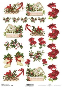Decoupage paper Soft ITD S0187