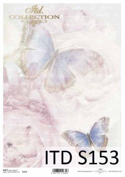 Decoupage paper Soft ITD S0153