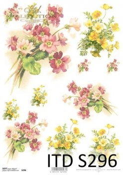 Decoupage paper Soft ITD S0296