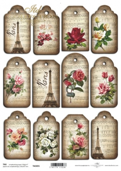 Tags, frames to scrapbooking TAG0001