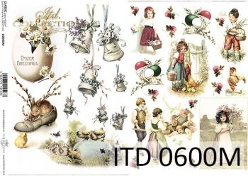 Decoupage paper ITD D0600M
