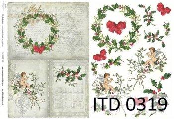 Decoupage paper ITD D0319M