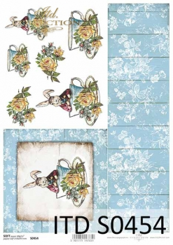 Decoupage paper Soft ITD S0454