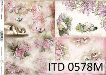 Decoupage paper ITD D0578M