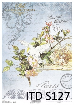 Decoupage paper Soft ITD S0127