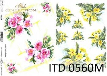 Decoupage paper ITD D0560M
