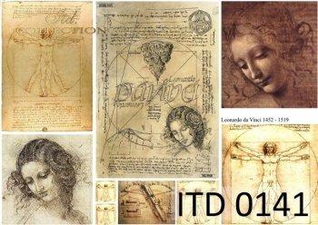 Decoupage Paper ITD D0141