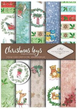 Scrapbooking papers SCRAP-026 ''Christmas toys''