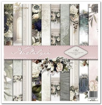 Scrapbooking papers SLS-024 ''Nostalgia''