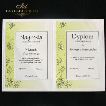 diploma DS0600 - 2 x A5 format