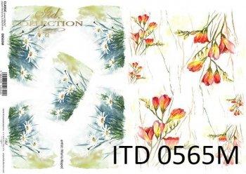 Decoupage paper ITD D0565M