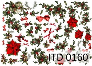 Decoupage paper ITD D0160M