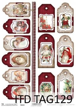 Tags, frames to scrapbooking TAG0129
