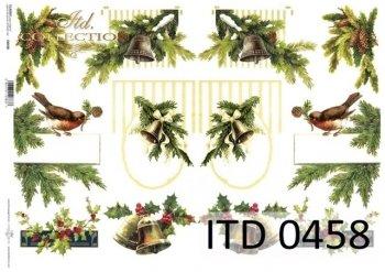 Decoupage paper ITD D0458