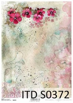 Decoupage paper Soft ITD S0372