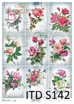 Decoupage paper Soft ITD S0142