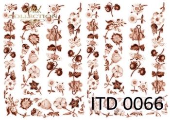 Decoupage paper ITD D0066M