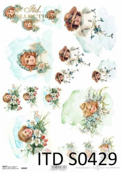 Decoupage paper Soft ITD S0429