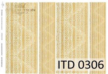 Decoupage paper ITD D0306