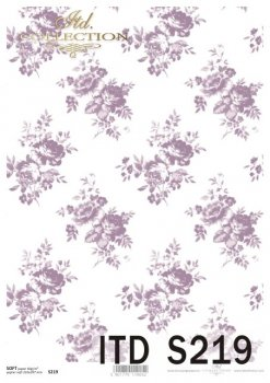 Decoupage paper Soft ITD S0219