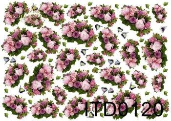 Decoupage paper ITD 0120M