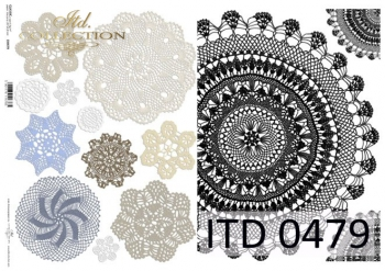 Decoupage paper ITD D0479M